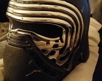 Kylo Ren Black Series Modified Helmet