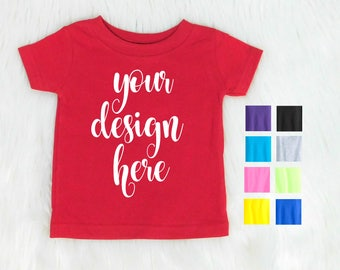 Custom Toddler Shirt / Custom Kid Shirt / Custom Baby Shirt / Customize Toddler TShirt / Colored Kids Shirt / Custom Shirt / 2T 3T 4T 5T 6T