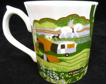 New Forest Association Embroidery Edition No 5 Elizabethan Bone China Mug – Limited Edition – Commemorating Wedding of HRH Prince of Wales