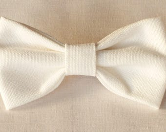 Fabric bowtie in different colors (made to order)