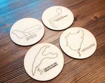 Formula 1 Inspired Racing Coasters