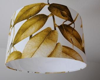 "Lampshade ""Ficus"" (ocher)"