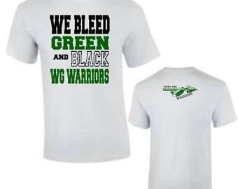 Custom Apparel- Team Spirit Football T- Shirt DES88