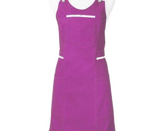 Women cotton for crafting or gardening apron