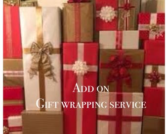 Add on Gift Wrapping Service