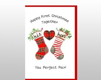 Happy First Christmas Together Card WWXM103