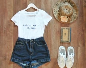 T-shirt. My mind control cats