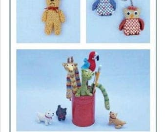 Knits and Pieces Miniature Gifts and Keepsakes -Toy Knitting Pattern KP-26