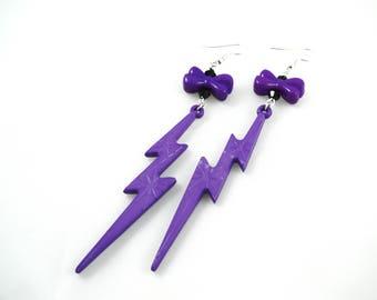 Earrings - rock Flash!
