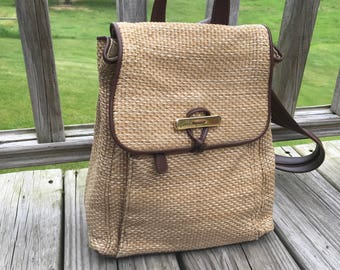 Vintage Liz Claiborne Backpack Purse