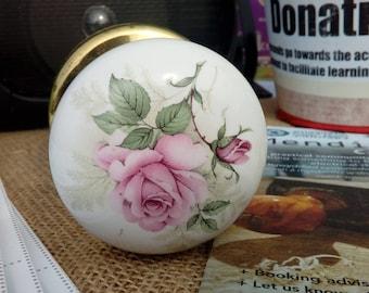 Vintage Porcelain Antique style door knobs