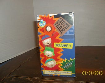 1997 comedy central south park vol 1 cartman gets an anal probe vhs video movie