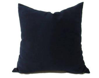 Blue Pillow, Navy Velvet Pillow, Blue Bed Velvet Pillow, Blue Velvet Pillow Cover, Blue Velvet Decorative Pillow, Sofa Pillow, Blue Pillows
