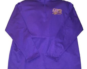 Omega Psi Phi (Wicking Fleece Pullover!!!!!)
