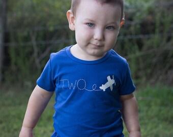 Airplane birthday, airplane birthday shirt, second birthday boy, second birthday shirt boy, 2nd birthday shirt boy, 2nd birthday boy, birthd