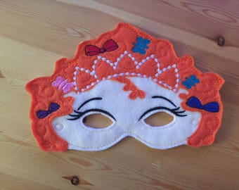 Fancy Nancy Felt Mask