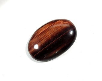 55Cts Red Tiger Eye Cabochon Loose Gemstones Oval Shape Excellent!!! Top Quality Natural Red Tiger Eye For Jewelry Making 36X24X7mm
