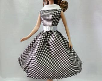 Made to Order- Vintage Barbie Doll Dress.