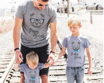 Fathers gift Papa bear shirt Papa bear t shirt Gift for father Dad to be New dad Father's day gift Fathers gift