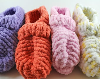 Cozy Knitted Slippers