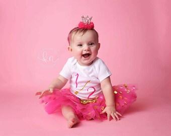 Crown headband,little girl headband,hot pink headband,elastic headband,hand made,headband,crown