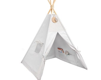 Tipi - Kids Play Tent Teepee - Ginger Cookie