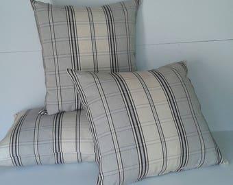 cushion Plaid/male female beautiful canvas 60 x 40