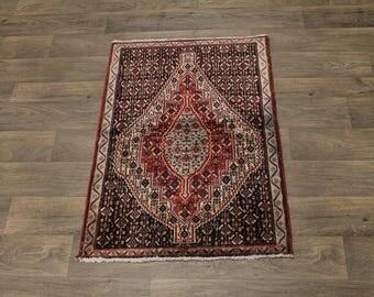 Unique Design Small Handmade Bidjar Persian Rug Oriental Area Carpet 2ʹ7X3ʹ9