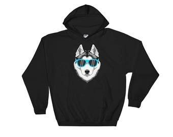 Husky Sweatshirt, Husky Sweater, Husky Hoodie, Husky Gifts, Siberian Husky Dog, Siberian Husky Gift, Siberian Husky Sweatshirt, Husky Dog