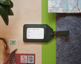 Sale! Luggage tag | Personalized luggage tag / Leather luggage tag / Luggage tags / personalized bag tags / Monogram luggage tag / Handmade