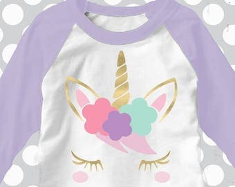 Unicorn svg, Unicorn with eyelashes, Gold horn unicorn, Unicorn face svg, SVG, DXF, unicorn birthday, unicorn head svg, ice cream svg