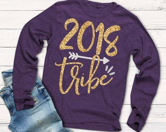 New Year's Eve svg, 2018 tribe svg, new year's shirts, new year's svg, SVG, DXF, EPS, 2018 svg, cut file, commercial use, iron on, digital