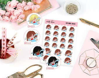 Crying   Motis   Character Stickers