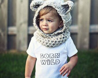 Born Wild Infant Bodysuit