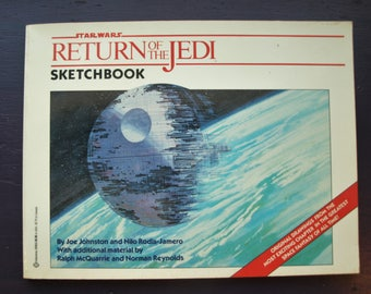 Star Wars: Return of the Jedi Sketchbook (1983, 1st Edition)