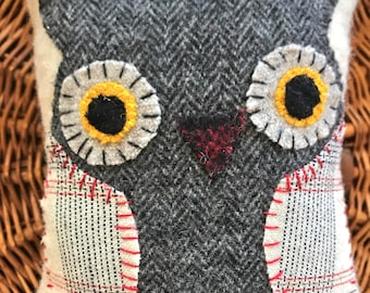 Mini Owl Pillow