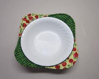 Microwave Bowl Cozy - Set of 2 Microwave Bowl Cozies - Bowl Cozy - Microwave Potholder