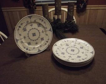 Franciscan *-* DENMARK BLUE *-* Dinner Plate, Set of 6 or Individual