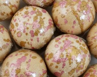 Coconut Macaroon Bath Fizzies / Handmade Bath Bombs