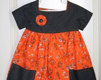 Girls 3T Oklahoma State University Dress