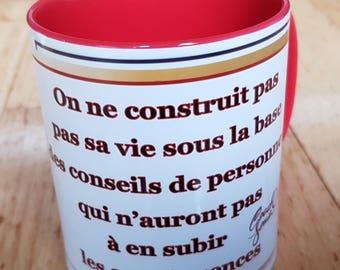 Text message mug