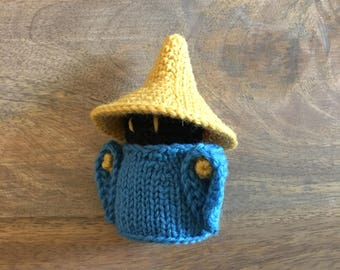 Final Fantasy Black Mage Amigurumi