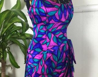 SALE A.J. Bari Mermaid Silk Mini Dress
