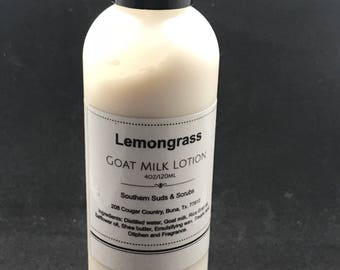 Lemongrass Goat Milk Lotion