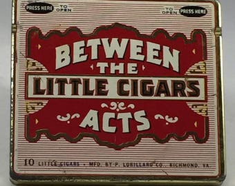 Between The Acts Little Cigars Metal Tin