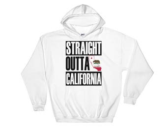 Straight Outta California Hooded Sweatshirt