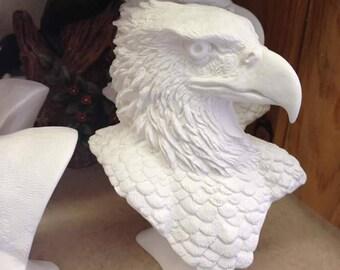 Eagle head Bust