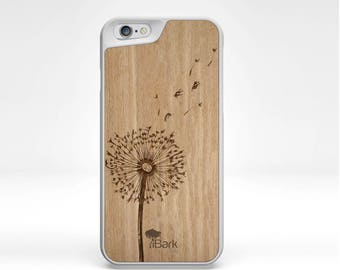 iPhone 6 case Wooden 'Dandelion'