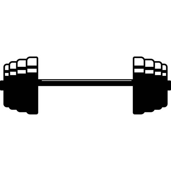 barbell 3 weightlifting bodybuilding fitness workout gym Girl Lifting Weights Clip Art Workout Silhouette Clip Art