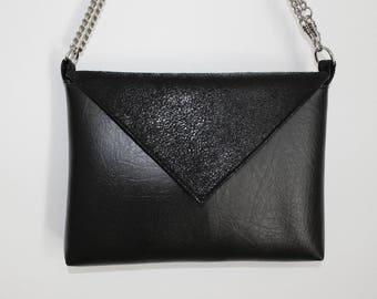 Evening clutch bag black